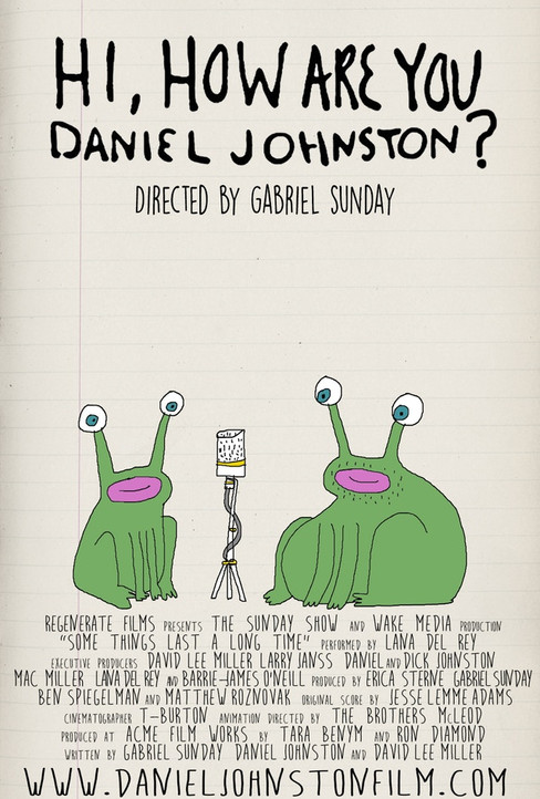 Hi, How Are You Daniel Johnston? (2015) Re-Recording Mixer and Editor