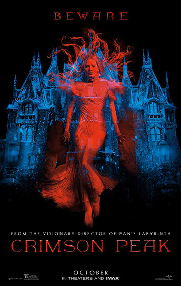 Crimson Peak (2015) Music Editorial