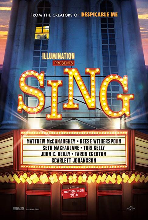 Sing (2016) Music Editorial
