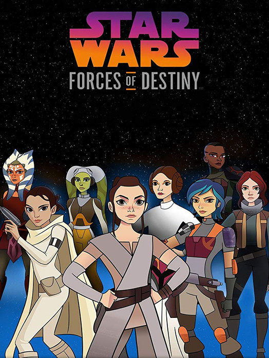 Star Wars Forces of Destiny (TV Series) (2017)  (Additional Re-Recording Mixer & Sound Editor