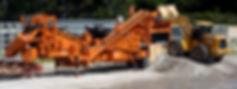 Concrete and asphalt crushing