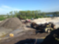 Concrete and asphalt crushing