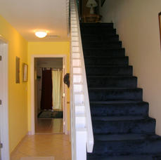 downstairs to bedrooms