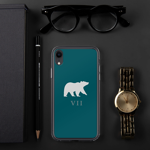 Bear VII Members Only iPhone Case