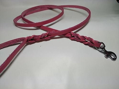 Bull Hide Half Twisted Leather Trigger leads 1/4""