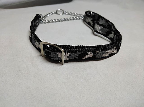 Adjustable half check collars