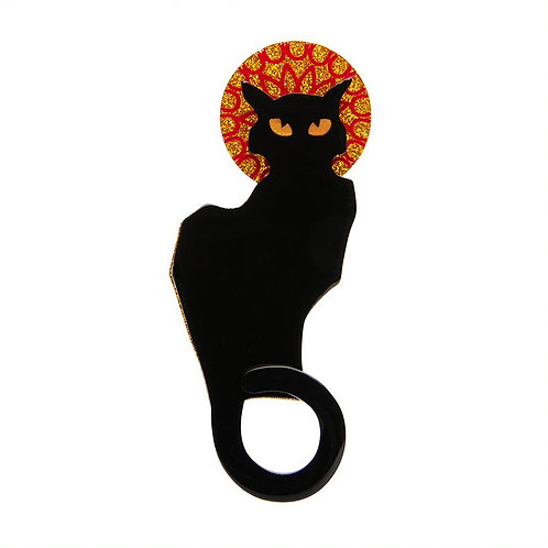 Erstwilder- Le Chat Noir Brooch