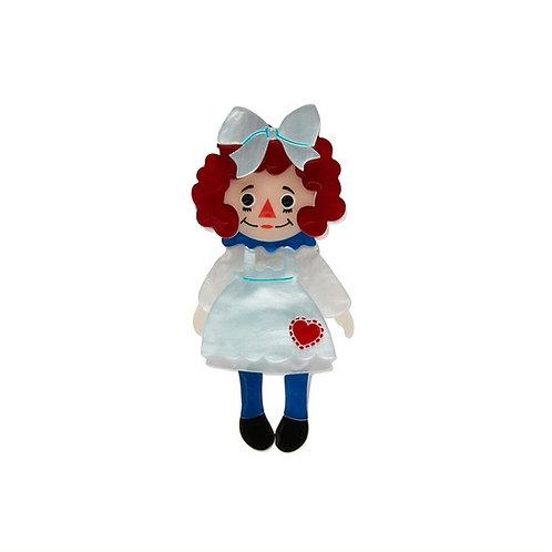 Erstwilder- Raggedy Annie Mini Brooch
