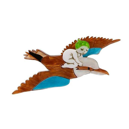 Erstwilder - Mr. Kookaburra Brooch