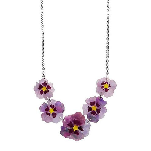 Erstwilder- Purple Prose Necklace