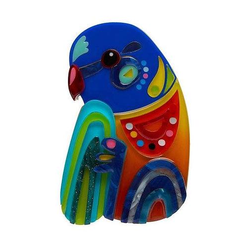 Erstwilder- The Radiant Rainbow Lorikeet Brooch