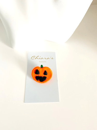 Chiara's Treasures-Halloween Pumpkin Brooch