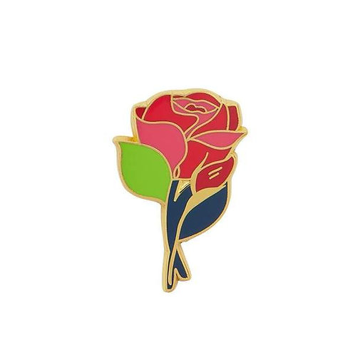 Erstwilder- Budding Rose Enamel Pin