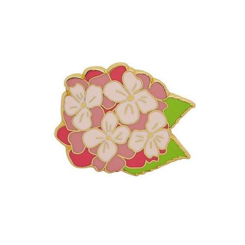 Erstwilder- Heartfelt Hydrangea Enamel Pin