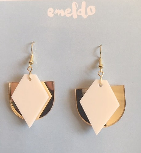 Emeldo- Art Deco Earrings