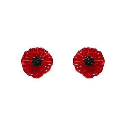 Erstwilder - Poppy Field Earrings