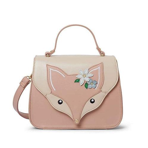 Erstwilder- Flora Fox Face Top Handle Bag