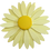 Thumbnail: Large Buttery Yellow Enamel Flower Pin