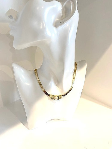 Christian Dior Vintage Gold/Pearl Necklace