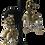 Thumbnail: Miriam Haskell- Vintage Dangling Baroque Pearls & Rhinestones Earrings