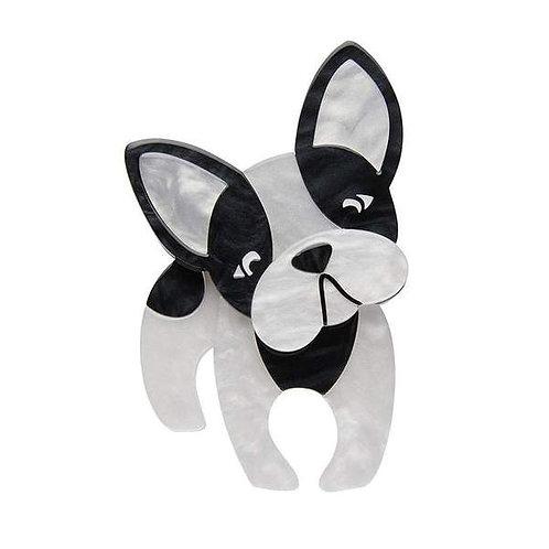 Erstwilder- Fabian The French Bulldog Brooch
