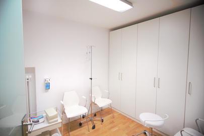 Ein Behandlungsraum