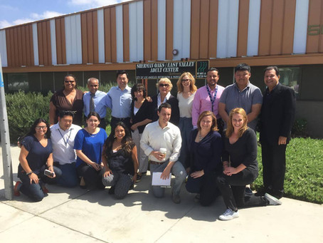 Councilmember David E. Ryu Visits Sherman Oaks Center