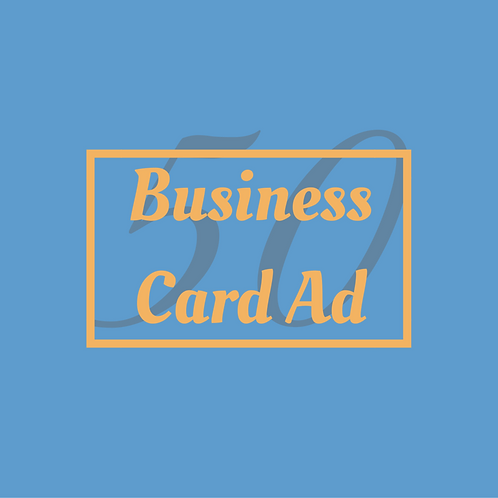 Business Card Ad