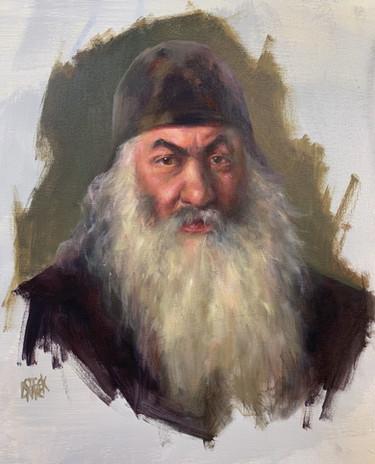 """Master Copy of Repin's """"Archdeacon"""""""