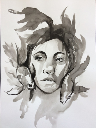 Abstract Portrait Study