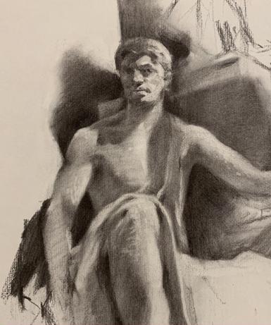 Statue figure (work in progress)