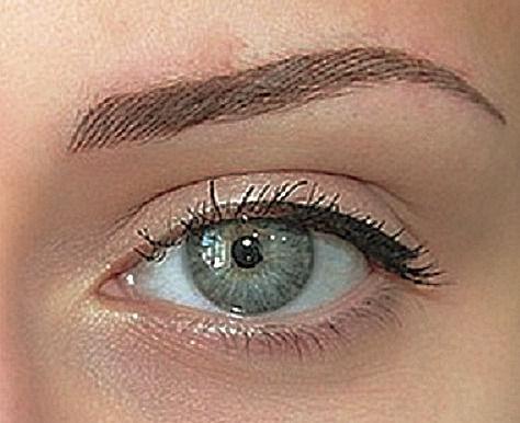 Permanent make-up Augenbrauen/Härchen