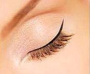 Permanent make-up Lidstriche oben