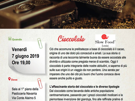 Master of Food Cioccolato a Lentini