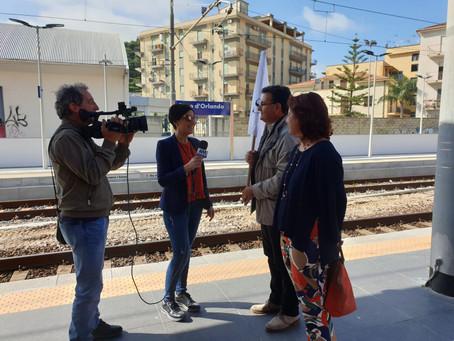 Treni Storici del Gusto 2019  Itinerario n.6 del 19 maggio 2019 da Messina a Capo d'Orlando a Cefalù