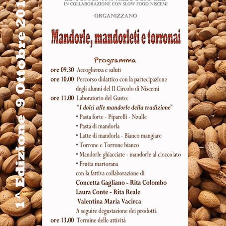 Mandorle, Mandorleti e Torronai