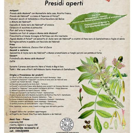 Presìdi aperti in Sicilia - Terra Madre