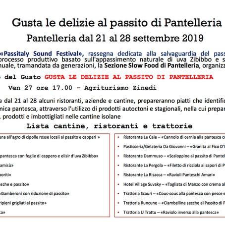 Pantelleria  |  Gusta le delizie al passito di Pantelleria