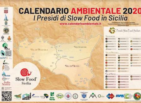 Calendario CEA 2020 dedicato ai Presìdi Slow Food siciliani