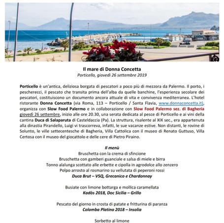 Palermo - Bagheria  |  Il mare di Donna Concetta