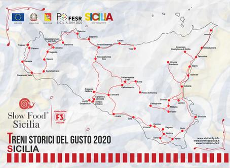 Treni Storici del Gusto 2020 - Sicilia
