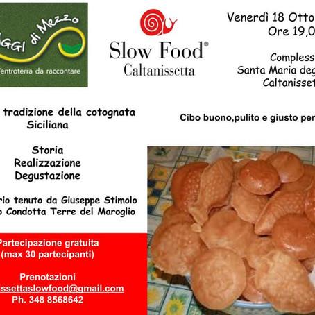 Caltanissetta - L'antica tradizione della cotognata siciliana