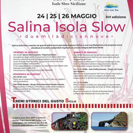 Salina Isola Slow 2019 - 24/25/26 Maggio