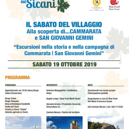 Cammarata e San Giovanni Gemini - Il Sabato del Villaggio