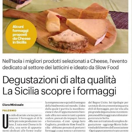 Grande successo di Cheese in Sicilia
