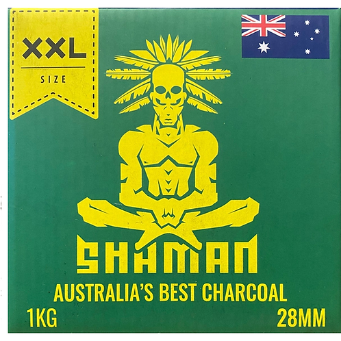 Shaman 28mm Charcoal Cubes