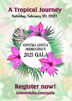 CCM Gala 2021 Cover