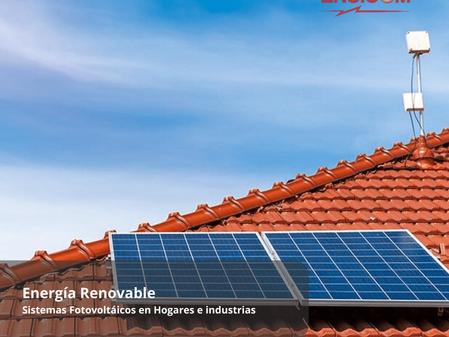 Sistemas Fotovoltaicos en Hogares e Industrias