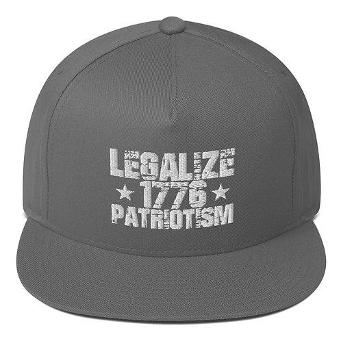 Legalize Patriotism Flat Bill Cap