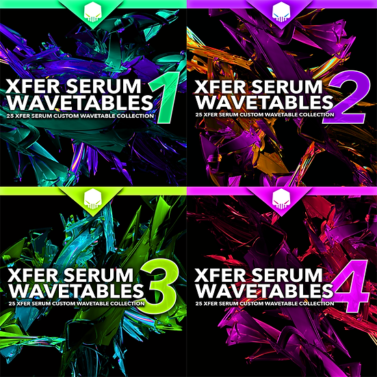 SERUM WAVETABLE COLLECTIONS V1-4